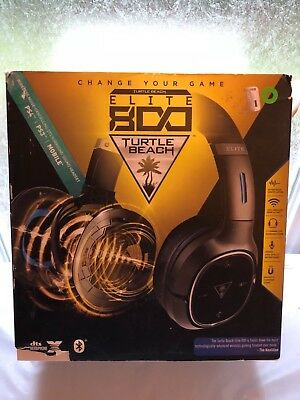 Turtle Beach Elite 800 Wireless Noise Cancelling Headset for PS3 PS4 PLEASE READ