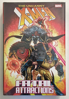 UNCANNY X-MEN Fatal Attractions Hardcover HC New/Sealed NM Omnibus Size $100 cvr