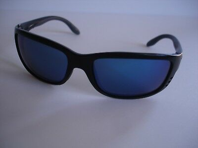 b00e4c0ce6 COSTA DEL MAR Sunglasses BLACKFIN Matte Black Polarized Blue Mirror ...