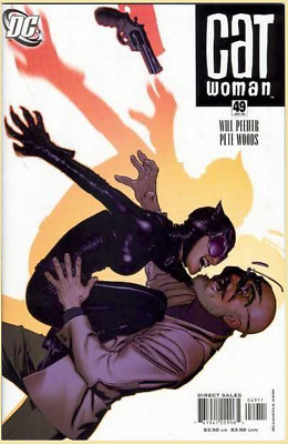 CATWOMAN #49 (2006, DC Comics) Vol. 3 | Adam Hughes Selina Kyle Action Cover VF+
