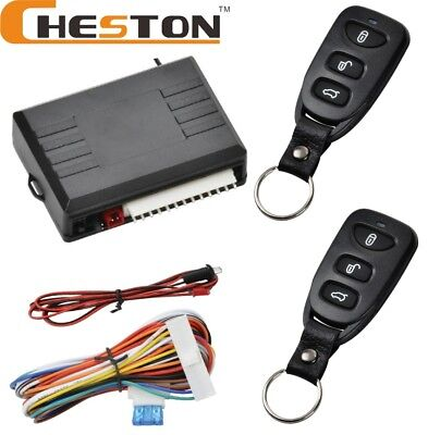 12V Universal Auto Car Vehicle Door Lock Keyless Entry System Remote Central Kit