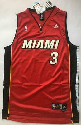timeless design 61c1f e0a65 RED COLOR DWYANE Wade Miami Heat #3 jersey