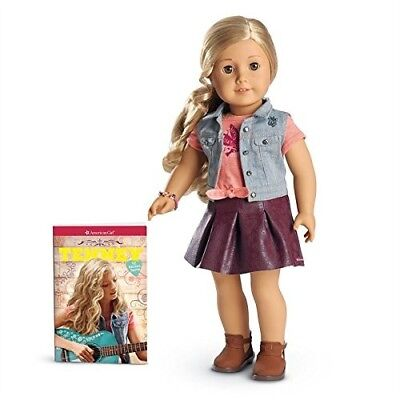 "SHIP NOW American Girl Tenney Grant Doll /& Book *New*18/"" Tenny Unopened Box MINT"