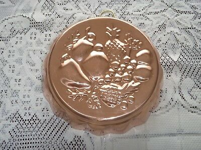 Copper  Fruits Jelly/ Blancmange Mould - Made in Korea
