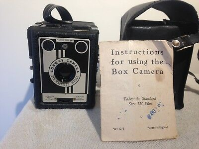 Conway vintage  Camera Synchronised model Box camera