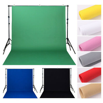 Solid Color Green White Black Studio Prop Photography Backdrop Photo Background
