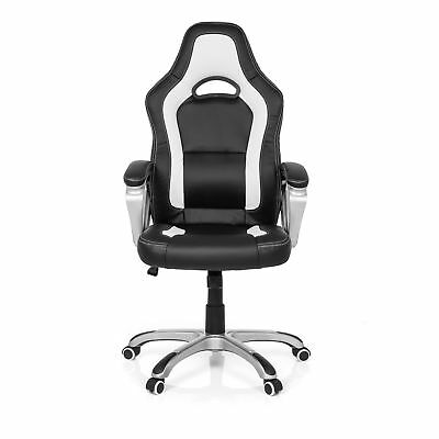 Sedia Home Office GAMING ZONE PRO AB100 Ecopelle Poltrona Presidenziale Racing