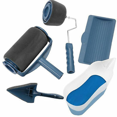 5Pcs Genuine Paint Runner Pro Painting Rollers Wall Painter Brush -As Seen On TV