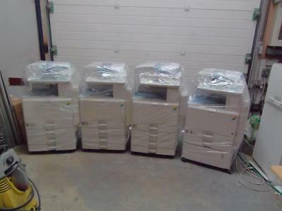 Ricoh Photocopiers Job Lot Of 4 Mpc 2000 2500 3000 4500 , All Tested