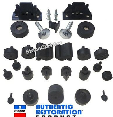 70 Challenger Body Bumper Kit w/ Hood Wedges Bolts Screws MoPar Authentic Resto