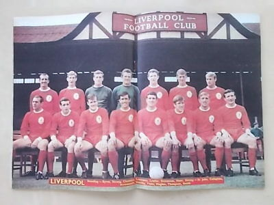 Football Monthly Magazine October 1967 - Liverpool - Jimmy Greaves