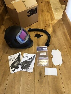 Speedglas 9100xx Fx Air Welding Helmet & Air Hose. VAT inc