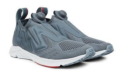 9c035a5c037a REEBOK  Pump Supreme Engine Low-Top Mesh  Trainers Sneakers Grey US 9.0