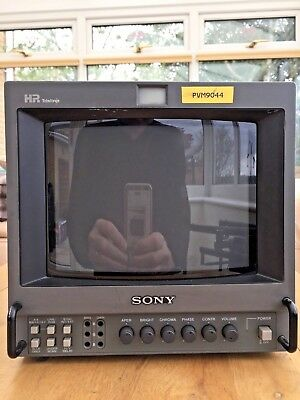 Sony Pvm-9044Qm / 9 Inch Professional Composite/rgb/component Colour Tv Monitor