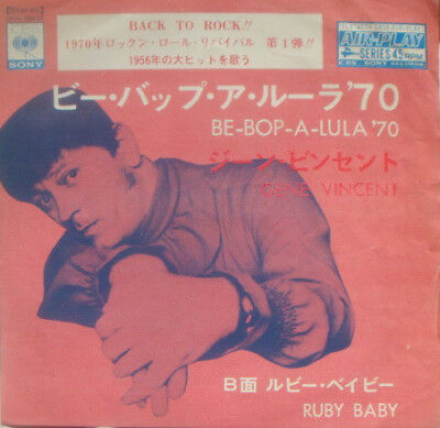 Gene Vincent / Be-Bop-A-Lula 70