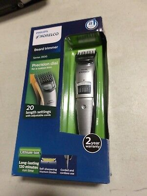Philips Norelco Beard trimmer Series 3500, 20 built-in length settings QT4018/49