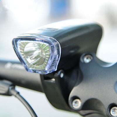 Waterproof LED Head Light Front Handlebar Lamp Flashlight 3 Modes  For Bicycle