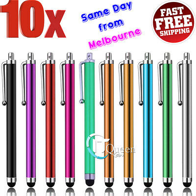 10x Capacitive Touch Screen Stylus Pen for iPhone 8 X iPad Tablet Samsung S8 S9