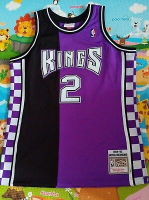 fc385d793933 Mitchell   Ness Sacramento Kings Mitch Richmond Authentic Jersey Size 44  Large