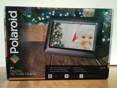 Polaroid Digital Picture Frame 7 Inch Display Pdf 700 2999