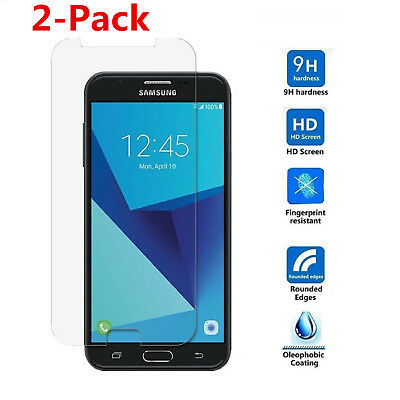 2-Pack Tempered Glass Screen Protector For Samsung Galaxy J7 Prime (2017)