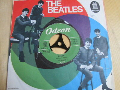 "The Beatles: Misery / Ask Me Why. 7"" Single, Odeon, Lochcover, Germany 1963."