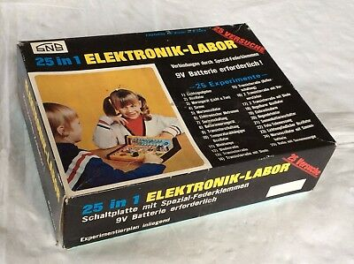 Sehr alter SNS 25 in 1 Elektronik-Labor MS 6000 Made in Japan *