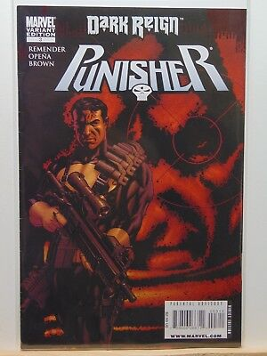Punisher Dark Reign #3 Variant Edition Marvel Comics vf/nm CB3114