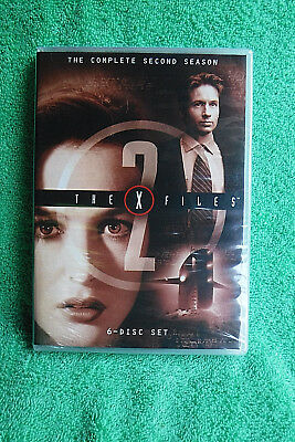Brand New/sealed 6 Dvd Set! The X-Files Complete 2Nd Second Season! Plastic Case