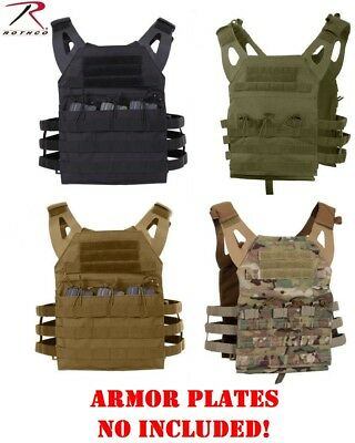 Rothco Tactical Lightweight Molle Plate Carrier Vest All Colors 55891 92 93 94