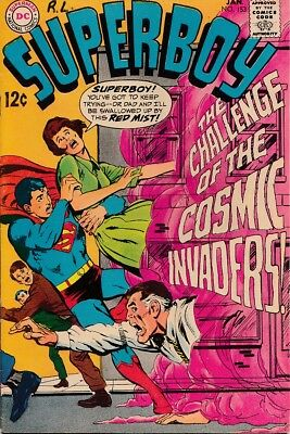 "Superboy 153 ""Challenge of the Cosmic Invaders!"" VF $35"