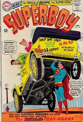 "Superboy 126 ""The Wild Teen-Agers"" FN $25"
