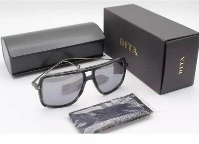 d3b10c4ab06 DITA WESTBOUND 19015 C GREY TORTOISE Silver Flash Mirror Black Sunglass  Aviator