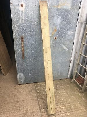 85 Inches or 216cm Long Old Reclaimed Rustic Pine Beam Timber Beam