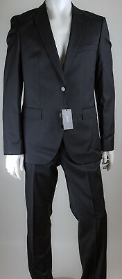 22ac01513 BOSS HUGO BOSS Johnstons/Lenon Wool Suit Regular Fit Size 40 - Black ...