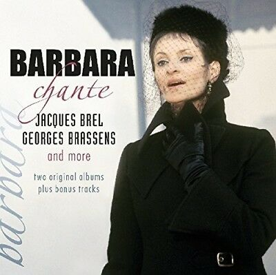 Chante Jacques Brel Georges Brassens & More - Barbara (2018, CD NEUF)