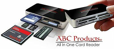 ALL IN ONE USB Memory Card Reader for SM CF XD SD MMC MS Windows 7 / 8 APPLE MAC