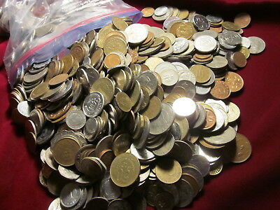 Bulk Lot *100 UNSEARCHED FOREIGN WORLD COINS.