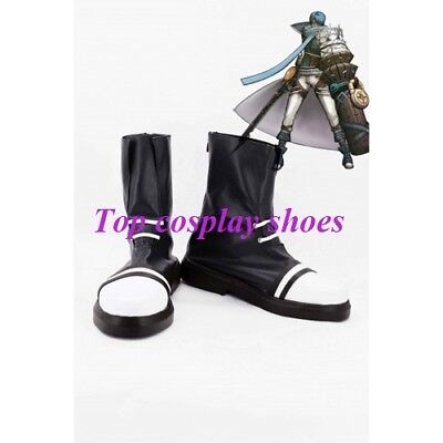 Anime hack Hack Cuffs Legend Dusk OVAN Cosplay Boots Shoes for Halloween