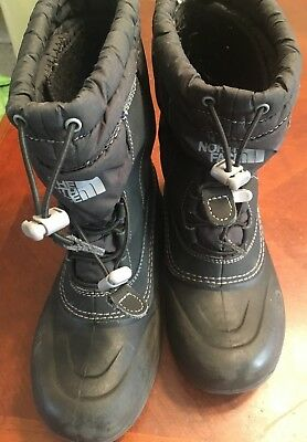 5ec614506 THE NORTH FACE Kids Insulated Waterproof Winter Snow Boots Size 13 ...