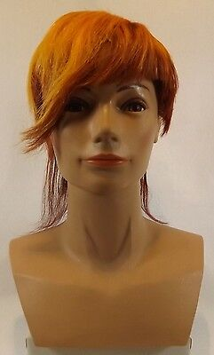 Pivot Point Head & Shoulders Bianca Ethnic Mannequin Hair Styled Colored Display