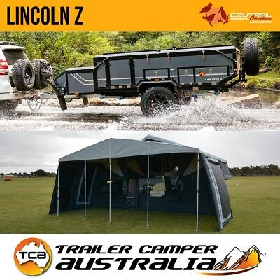 Ezytrail Lincoln Z Off Road Hard Floor Camper Trailer Dual Fold