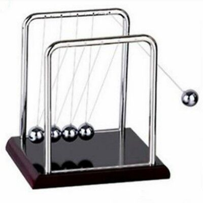 Kids Desk/Office Decor Newton's Cradle Balance Ball Physics Science Pendulum Toy