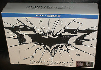 Batman The Dark Knight Trilogy: Ultimate Collector's Edition Blu-ray Box Set NEW