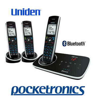 Uniden Elite 9135+2 TRIPLE Stylish answer machine cordless phone 3 handsets NEW