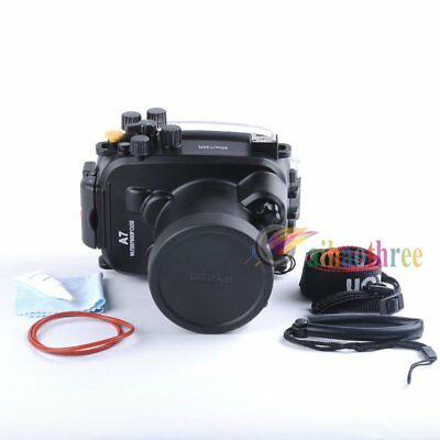 Meikon 40m/130ft Waterproof Diving Case For Sony A7 A7S A7R 28-70mm Camera【AU】