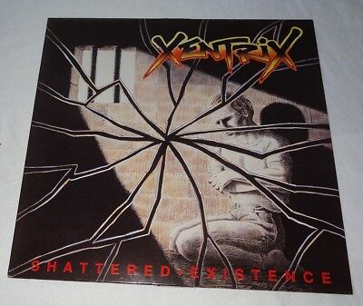 LP Xentrix - Shattered Existence 1989 Roadracer Records Holland ( RO 9444 1)