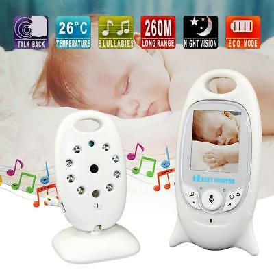 2.4GHz Wireless Digital LCD Color Baby Monitor Camera Night Vision Audio Video
