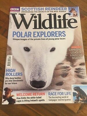 BBC Wildlife Magazine December 2016 Nature Polar Explorers