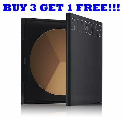 St Tropez Pressed Powder 3in1 Bronzing Powder Sculpt Bronze and Highlight 22g